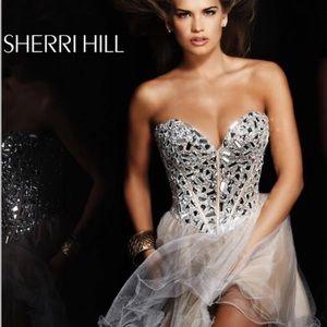 Yellow Sherri Hill Dress 🤩💛🌟